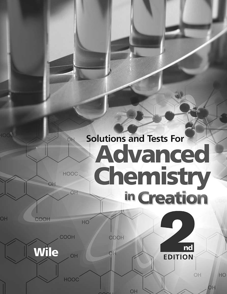 Advanced Chemistry Solutions Manual